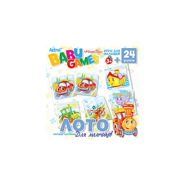 Origami Настольная игра Origami Лото + Пазл (24 детали) для мальчиков настольная игра ладья с лото c 197