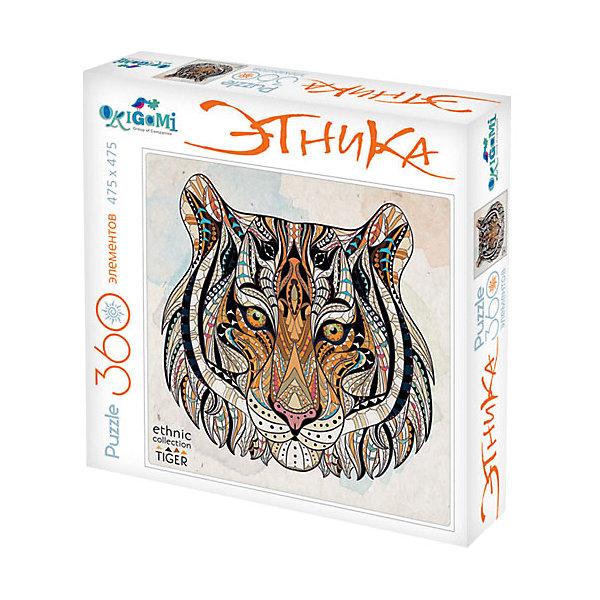 Origami Пазл Арт-терапия Тигр, 360 деталей