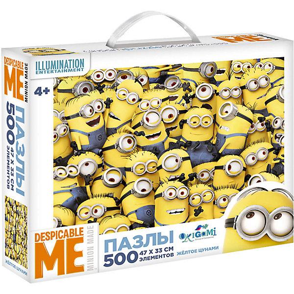 Origami Гадкий Я 2.Пазл.500Эл.Чем.Жёлтое цунами.01681 universal миньоны набор для детского творчества гадкий я 9 предметов