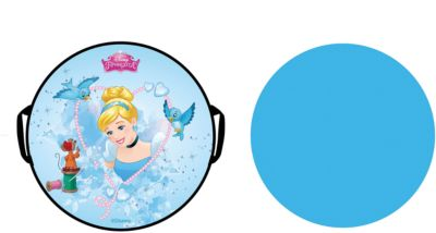 1Toy Ледянка Disney Принцессы, 52 см, круглая 1toy ледянка 1toy star wars штурмовик 92 см
