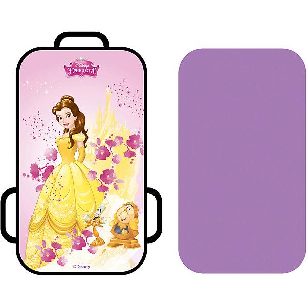 1Toy Ледянка 1Toy Disney Princess Белль, прямоугольная, 72х41 см ледянка 1toy с плотными ручками