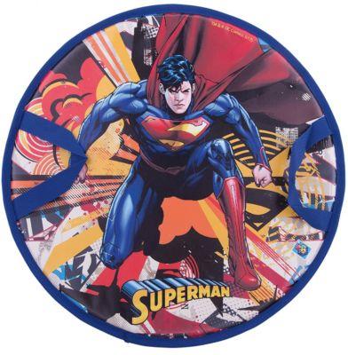1Toy WB Супермен, ледянка, 52 см, круглая 1toy ледянка 1toy star wars штурмовик 92 см