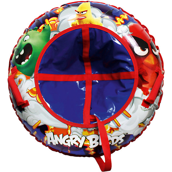 1Toy Angry Birds, тюбинг - надувные сани