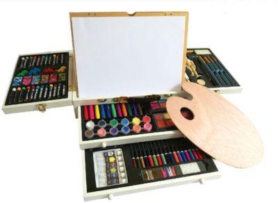 Волшебныи чемодан художника Kids4Kids, 145 предметов, артикул:7243030 - Товары для художников