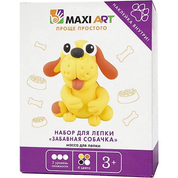 всё для лепки faber castell набор форм для лепки рождественские символы Maxitoys Набор для Лепки Забавная Собачка