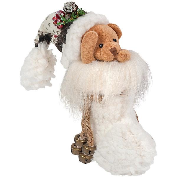 Мишка в СапогеЁлочные игрушки<br>Мишка в сапоге - великолепная новогодняя фигурка, со множеством мелких деталей. Может украсить ваш камин, либо елку. Состав: полиэстер. Срок службы при надлежащем использовании - 5 лет.<br>Ширина мм: 150; Глубина мм: 100; Высота мм: 150; Вес г: 51; Возраст от месяцев: 60; Возраст до месяцев: 2147483647; Пол: Унисекс; Возраст: Детский; SKU: 7243058;