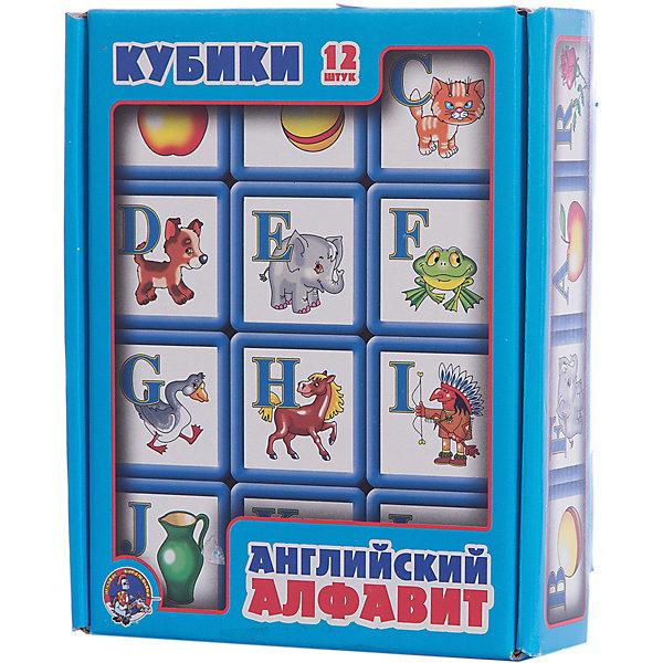 Выдувка. Кубики с бортиком Английский алфавит 12 эл (5,5 см)Иностранный язык<br>В набор входит 12 кубиков из выдувной пластмассы, на которых изображены буквы английского алфавита и картинки предметов и животных, начинающихся на эту букву. Ребята в игровой форме смогут выучить английский алфавит.<br>Размер каждого кубика 5х5 см. <br>Самостоятельно дети могут играть с кубиками, начиная с 3-х лет. Занятия с детьми, не достигшими этого возраста, должны проходить под обязательным присмотром взрослых.<br>Ширина мм: 210; Глубина мм: 170; Высота мм: 55; Вес г: 320; Возраст от месяцев: 420; Возраст до месяцев: 2147483647; Пол: Унисекс; Возраст: Детский; SKU: 7245752;