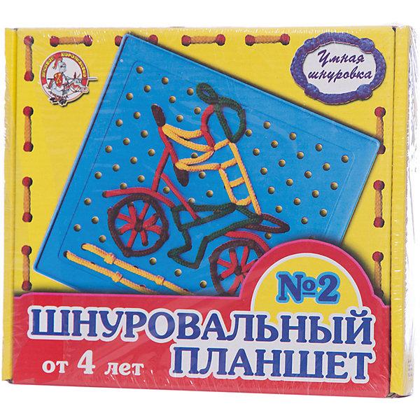 Десятое королевство Шнуровка Шнуровальный планшет №2 развивающие игрушки десятое королевство шнуровальный планшет 1 десятое королевство