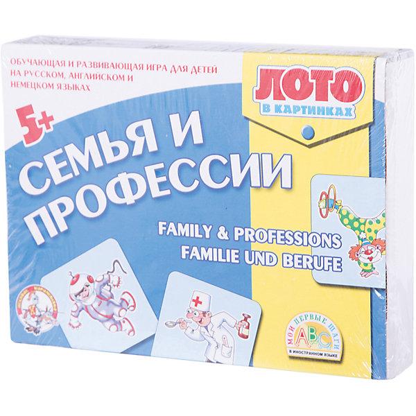 Десятое королевство Лото в картинках для обучения детей английскому и немецкому Семья и профессии free shipping 10pcs mn6479a