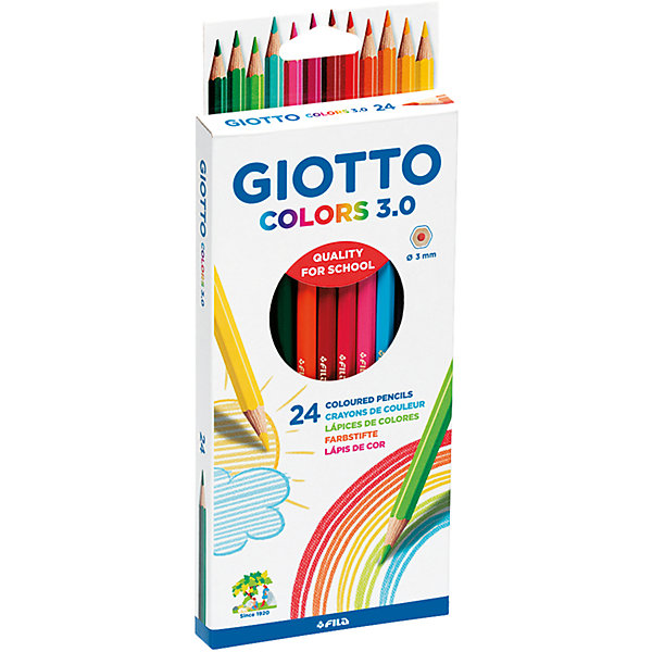 GIOTTO GIOTTO COLORS 3.0, 24 цв цены онлайн