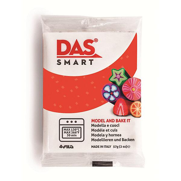 DAS Паста для моделирования, 57 гр., цвет красный наборы для лепки fila das паста для моделирования 150гр синяя