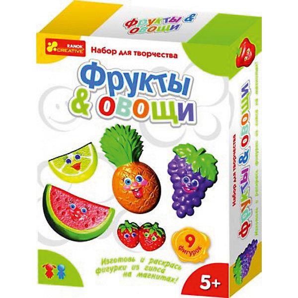 Ранок Набор для творчества «Фрукты & Овощи» набор для детского творчества ранок фоторамочка 2 в 1 настроение и принцесса