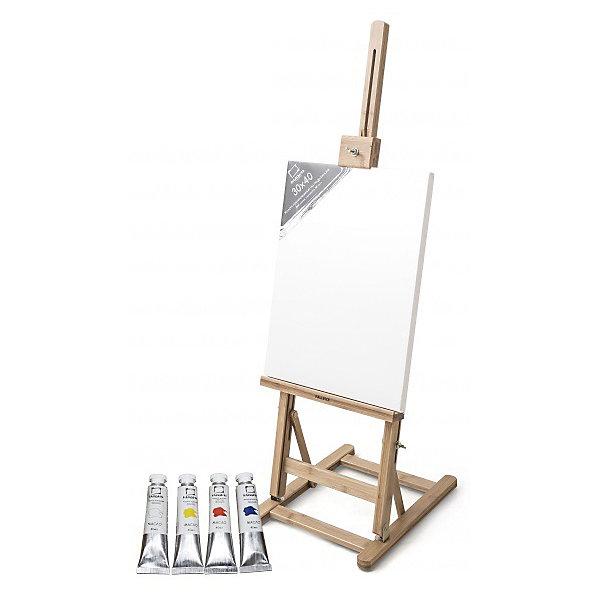 Малевичъ Стартовый набор для живописи маслом (МЛ-58) малевичъ холст на подрамнике хлопок 280 гр 50х80 см