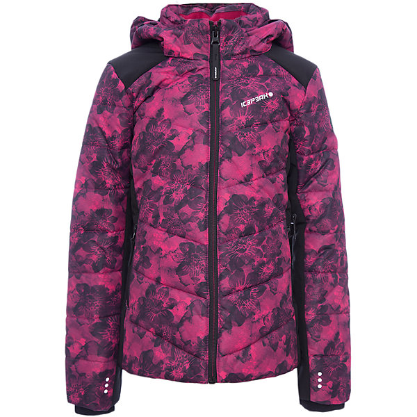 Куртка ICEPEAK для девочкиВерхняя одежда<br>Характеристики товара:  <br><br>• цвет: фуксия;<br>• состав ткани: 100% полиэстер;<br>• подкладка: 100% полиэстер;<br>• утеплитель: 100% полиэстер;<br>• сезон: зима;<br>• температурный режим: от -25 до +5;<br>• особенности модели: с капюшоном;<br>• капюшон: съемный;<br>• плотность утеплителя: 220/180 г/м2;<br>• застежка: молния;<br>• страна бренда: Финляндия;<br>• комфорт и качество .<br><br>Обеспечить ребенку тепло и комфорт в морозы поможет такая куртка для девочки. Практичная детская куртка отлично подойдет для зимних морозов. Зимняя куртка дополнена удобными деталями - молния закрыта планкой, есть карманы и капюшон.   <br><br>Куртку Icepeak (Айспик) для девочки можно купить в нашем интернет-магазине.<br>Ширина мм: 356; Глубина мм: 10; Высота мм: 245; Вес г: 519; Цвет: фиолетово-розовый; Возраст от месяцев: 84; Возраст до месяцев: 96; Пол: Женский; Возраст: Детский; Размер: 128,176,164,152,140; SKU: 7264206;