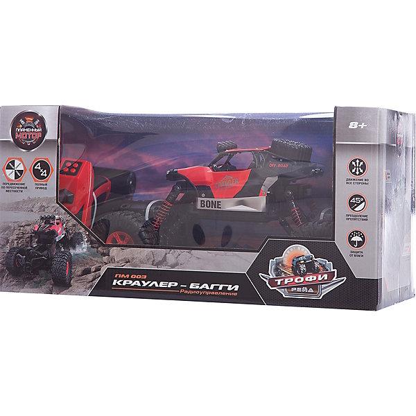 Фото - Пламенный мотор Радиоуправляемая машинка Пламенный мотор Краулер-Багги ПМ-003, красная краулер e324 003