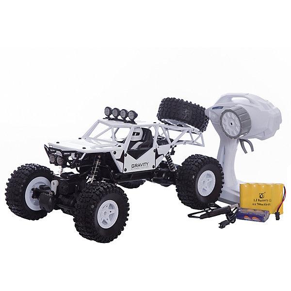 Купить Радиоуправляемая машинка Пламенный мотор Краулер-Багги ПМ-001 , белая, Китай, Мужской