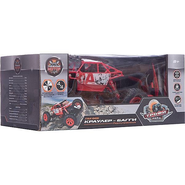 Купить Радиоуправляемая машинка Пламенный мотор Краулер-Багги ПМ-005 , красная, Китай, Мужской