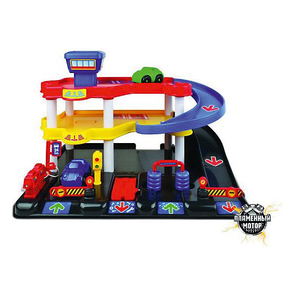 Пламенный мотор Паркинг Пламенный мотор БиБи-парк Автоцентр игрушка пламенный мотор 870179
