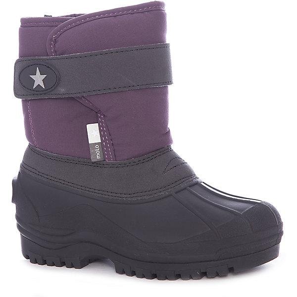 Купить Сноубутсы Molo для девочки, Китай, фиолетовый, Женский