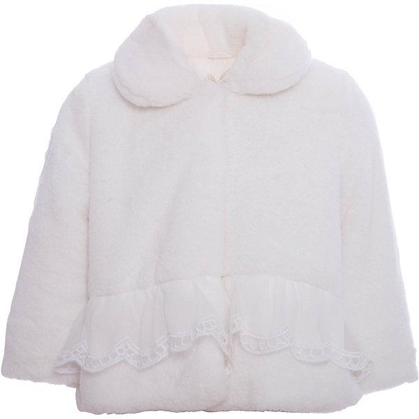 Шубка из искусственного меха Wojcik для девочкиВерхняя одежда<br>Характеристики товара:<br><br>• цвет: белый<br>• состав ткани верха: 100% полиэстер<br>• подкладка: 100% полиэстер<br>• сезон: осень-зима<br>• температурный режим: от +10 до 0<br>• застежка: пуговицы<br>• длинные рукава<br>• страна бренда: Польша<br>• страна изготовитель: Польша<br><br>Такая шубка для девочки от Войчик отличается модным кроем. Детская шубка удобно застегивается. Шубка из искусственного меха для детей - удобная и стильная. Польская детская одежда для детей от бренда Wojcik - это качественные и стильные вещи. <br><br>Шубку Wojcik (Войчик) для девочки можно купить в нашем интернет-магазине.<br>Ширина мм: 190; Глубина мм: 74; Высота мм: 229; Вес г: 236; Цвет: бежевый; Возраст от месяцев: 18; Возраст до месяцев: 24; Пол: Женский; Возраст: Детский; Размер: 92,86,80,98; SKU: 7266265;
