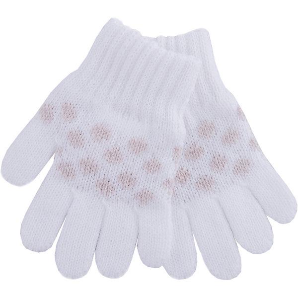 Перчатки Wojcik для девочкиПерчатки<br>Характеристики товара:<br><br>• цвет: белый<br>• состав ткани: 100% акрил<br>• сезон: демисезон<br>• декор: вязаный узор<br>• страна бренда: Польша<br>• страна изготовитель: Польша<br><br>Оригинальные перчатки для девочки Wojcik мягко облегают руки. Детские перчатки декорированы вязаным рисунком. Эти перчатки для детей - мягкие и комфортные. Одежда для детей из Польши от бренда Wojcik отличается хорошим качеством и стилем. <br><br>Перчатки Wojcik (Войчик) для девочки можно купить в нашем интернет-магазине.<br>Ширина мм: 162; Глубина мм: 171; Высота мм: 55; Вес г: 119; Цвет: бежевый; Возраст от месяцев: 18; Возраст до месяцев: 24; Пол: Женский; Возраст: Детский; Размер: 92,134,128,122,116,110,104,98; SKU: 7266307;