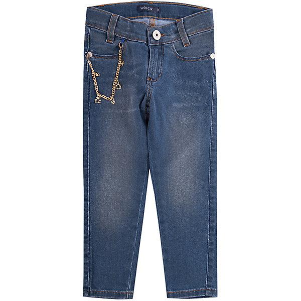 Wojcik Джинсы Wojcik для девочки jamie тенденция детей мужского пола несут jmbear дикий ковбойские джинсы семь джинсы синие брюки 882 515 307 140
