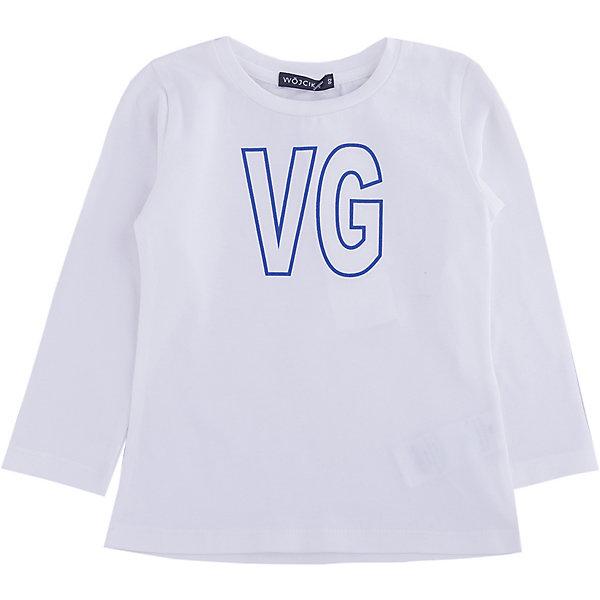 Wojcik Рубашка Wojcik для девочки лонгслив для девочки batik цвет голубой ds0133 11 размер 92