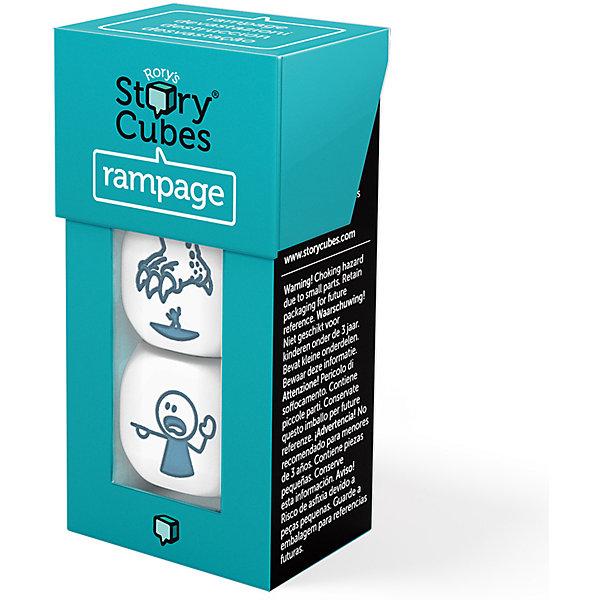 Rory's Story Cubes Настольная игра Rory's Story Cubes Кубики историй Буйства 3 кубика (доп. набор) настольные игры rorys story cubes кубики историй дополнительный набор космос