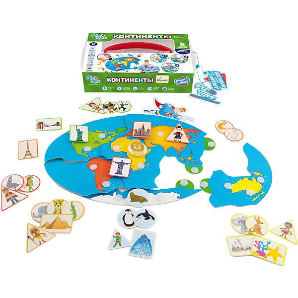 Настольная игра PicnMix Аркадий Паровозов. КонтинентыНастольные игры для всей семьи<br>Характеристики товара:<br><br>• возраст: от 1 года;<br>• материал: картон, пластик;<br>• в комплекте: 6 карточек-континентов, 9 карточек с достопримечательностями, 6 карточек с жителями, 15 карточек с животными, фигурка, инструкция;<br>• количество игроков: от 1 до 4 человек;<br>• размер упаковки: 25х16х5,4 см;<br>• вес упаковки: 265 гр.;<br>• страна производитель: Россия.<br><br>Игра настольная развивающая «Аркадий Паровозов. Континенты» PicnMix — увлекательная игра для малышей, в которой они отправятся в путешествие и познакомятся в основными континентами, их достопримечательностями, животными, живущими там. Игра расширяет кругозор ребенка, обогащает его словарный запас, тренирует память, речи, развивает логическое мышление.<br><br>Игру настольную развивающую «Аркадий Паровозов. Континенты» PicnMix можно приобрести в нашем интернет-магазине.<br>Ширина мм: 250; Глубина мм: 54; Высота мм: 160; Вес г: 265; Возраст от месяцев: 12; Возраст до месяцев: 2147483647; Пол: Унисекс; Возраст: Детский; SKU: 7272937;