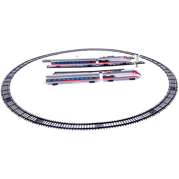 ABtoys Железная дорога Abtoys Экспресс 26 деталей железная дорога 1toy супер экспресс новые дороги 59 эл