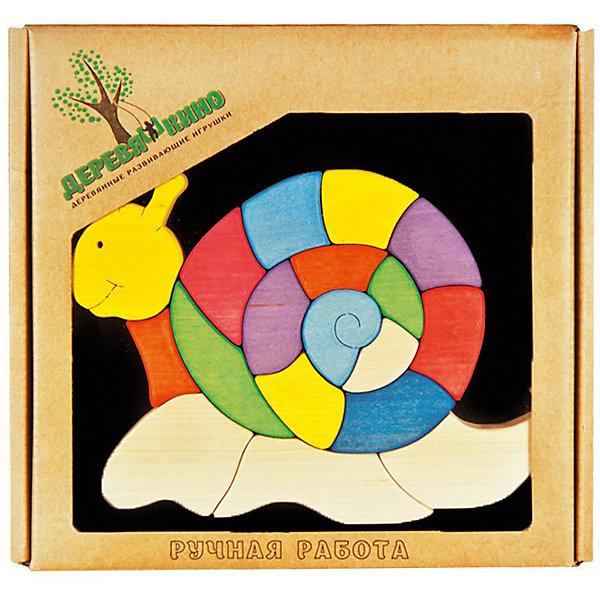 Магнитный пазл УлиткаПазлы для малышей<br>Характеристики товара:<br><br>• возраст: от 3 лет; <br>• количество деталей: 18 шт.; <br>• комплект: магнитная доска, элементы пазла;<br>• материал: дерево, магнит;<br>• размер упаковки: 21x21x3 см.;<br>• упаковка: картонная коробка блистерного типа;<br>• размер магнитной доски: 20х20 см.;<br>• cтрана обладатель бренда: Россия.<br><br>Деревянный пазл головоломка на магнитной доске состоит из 18 элементов. <br><br>Детали пазла выполнены вручную, самым маленьким детишкам будет удобно их собирать, так как элементы улитки все крупные. <br><br>У улитки яркие цвета, к тому же игрушка способствует развитию мелкой моторики, логического мышления, умения различать цвета и формы и многих других навыков.<br><br>Магнитный пазл можно купить в нашем интернет-магазине.<br>Ширина мм: 30; Глубина мм: 200; Высота мм: 200; Вес г: 470; Возраст от месяцев: 36; Возраст до месяцев: 84; Пол: Унисекс; Возраст: Детский; SKU: 7276701;