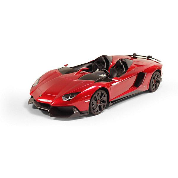 Радиоуправляемая машинка Rastar Lamborghini Aventador J, 1:12Радиоуправляемые машины<br>Характеристики товара:<br><br>• возраст: от 5 лет;<br>• материал: пластик, металл;<br>• в комплекте: машина, пульт;<br>• тип батареек: 5 батареек АА;<br>• наличие батареек: не входят в комплект;<br>• масштаб: 1:12;<br>• размер упаковки: 50х22х20,5 см;<br>• вес упаковки: 1,758 кг;<br>• страна производитель: Китай.<br><br>Радиоуправляемая машина Rastar Lamborghini Aventador J представляет собой копию настоящего автомобиля. Машина умеет ездить вперед и назад, поворачивать. Она развивает скорость до 12 км/час. Машинка оснащена системой амортизации. Подойдет для игр как в помещении, так и на улице.<br><br>Радиоуправляемую машину Rastar Lamborghini Aventador J можно приобрести в нашем интернет-магазине.<br>Ширина мм: 500; Глубина мм: 220; Высота мм: 205; Вес г: 1758; Возраст от месяцев: 36; Возраст до месяцев: 180; Пол: Мужской; Возраст: Детский; SKU: 7297271;