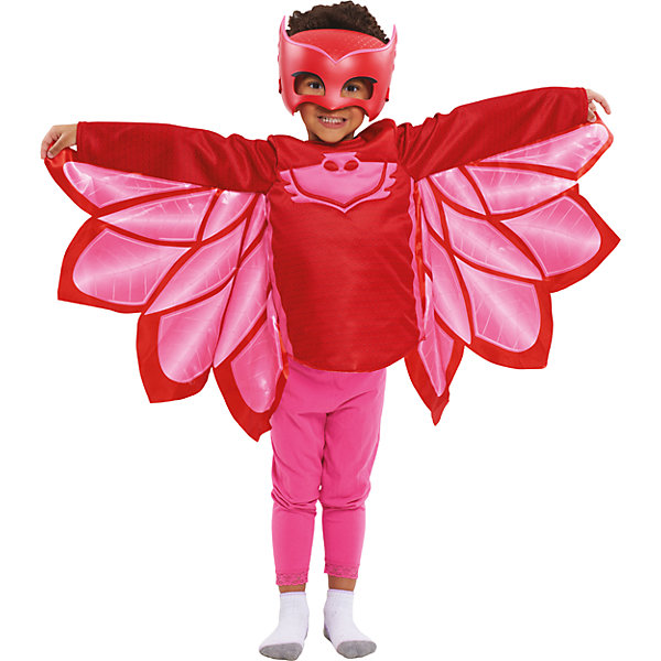 Карнавальный костюм Росмен Герои в масках, Аллет (кофта и маска)Вечеринка Супергероев<br>Характеристики товара:<br><br>• цвет: красный;<br>• состав: кофта: 100% полиэстер, маска: пластик;<br>• в комплекте два предмета: кофта и маска;<br>• кофта с изображением амулета героя;<br>• маска на мягкой эластичной резинке;<br>• размер маски: 19х15 см;<br>• кофта на рост 116-121 см;<br>• длина рукава: 42 см;<br>• длина по спинке: 35 см;<br>• упаковка: блистер;<br>• страна бренда: Россия;<br>• страна изготовитель: Россия.<br><br>Карнавальный костюм в виде любимого героя Аллет из мультфильма Герои в масках. Костюм состоит из кофты и маски, кофта выполнена полностью из полиэстера, маска пластиковая. Допускается стирка кофты при температуре не выше 30С. <br><br>Карнавальный костюм Росмен Герои в масках, Аллет можно купить в нашем интернет-магазине.<br>Ширина мм: 253; Глубина мм: 115; Высота мм: 310; Вес г: 410; Возраст от месяцев: 36; Возраст до месяцев: 2147483647; Пол: Женский; Возраст: Детский; SKU: 7298354;