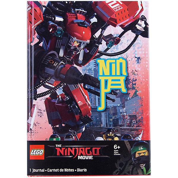 LEGO Книга для записей (96 листов, линейка) с резинкой LEGO Ninjago Movie (Лего Фильм: Ниндзяго)-Kai
