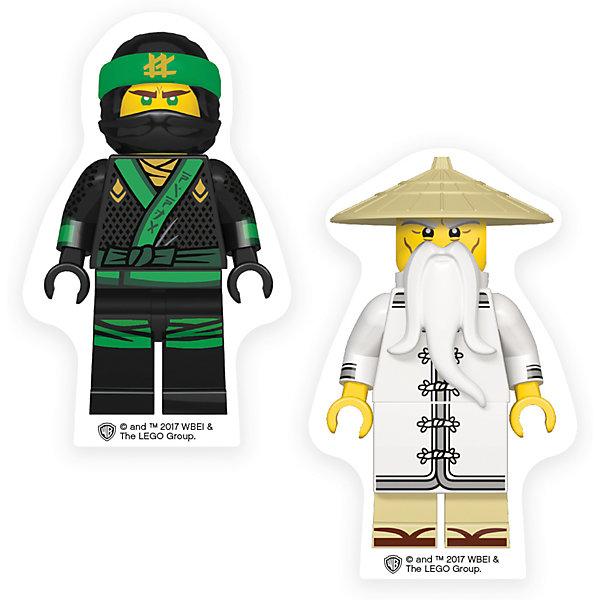 LEGO Набор ластиков (2 шт.) LEGO Ninjago Movie (Лего Фильм: Ниндзяго)- Lloyd/Wu lego ninjago 70600 лего ниндзяго погоня на мотоциклах