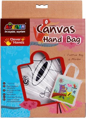 Набор для раскрашивания сумки из холста  Птичка , артикул:7313478 - Рукоделие и поделки