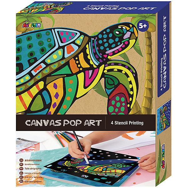 Большой набор для шелкографии ЧерепахаНаборы для рисования<br>Характеристики товара:<br><br>• возраст: от 3 лет;<br>• пол: мальчик, девочка;<br>В комплекте:<br>• 1 холст;<br>• 4 бумажных трафарета; <br>• 6 тюбиков с краской;<br>• 1 кисточка;<br>• из чего сделана игрушка (состав): картон, текстиль, пластик; <br>• вес: 0,26 кг.;<br>• размер упаковки: 21х27х4 см.;<br>• упаковка: картонная коробка.<br><br>Набор для творчества Черпаха из серии Шелкография может надолго заинтересовать детей. <br><br>Он предлагает создать интересную картинку с изображением забавной черепашки. Задачей обладателя данного набора является нарисовать рисунок на холсте с помощью четырех трафаретов и раскрасить его яркими цветами красок.<br><br>Набор развивает художественное мышление, творческие способности, воображение.<br><br>Большой набор для шелкографии «Черепаха» можно купить в нашем интернет-магазине.<br>Ширина мм: 210; Глубина мм: 270; Высота мм: 40; Вес г: 260; Возраст от месяцев: 36; Возраст до месяцев: 2147483647; Пол: Женский; Возраст: Детский; SKU: 7313486;