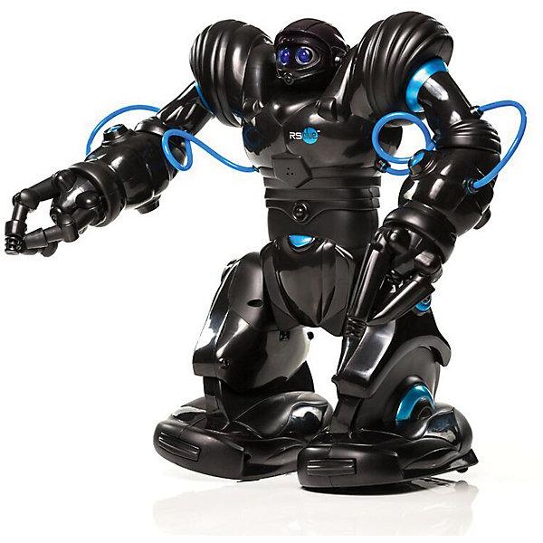 Радиоуправляемый робот Wowwee Робосапиен BlueРоботы-игрушки<br>Характеристики товара:<br><br>• возраст: от 6 лет;<br>• батарейки: ААА - 3 шт.; D - 4 шт. (не входят в комплект);<br>• совместим с iOS 8+ и Android 4.3+;<br>• в комплекте: робот, пульт, документация;<br>• размер: 32х34,5х15 см;<br>• материал: пластик, металл;<br>• размер упаковки: 43х26х40 см;<br>• страна: Китай.<br><br>Робосапиен Blue сумеет развлечь и детей, и взрослых. Робот умеет передвигаться, танцевать в такт музыке, поднимать небольшие предметы, свистеть, храпеть и произносить забавные фразы. Для управления игрушкой можно установить специальное приложение на свой смартфон. Робот имеет два режима ходьбы и поворотов, управляемые руки с захватом, 67 функций, удары, захват, размах, танцы, приемы карате. <br><br>Кроме того, робот автоматически танцует под любимую музыку, крутит головой, умеет обходить препятствия и реагировать на звук. Игрушку можно программировать самостоятельно.  Во время работы глаза робота светятся синими огоньками. Для работы необходимы батарейки (не входят в комплект). Игрушка подходит для детей от шести лет.<br><br>Робота «Робосапиен Blue», WowWee (ВовВи) можно купить в нашем интернет-магазине.<br>Ширина мм: 400; Глубина мм: 260; Высота мм: 430; Вес г: 2620; Возраст от месяцев: 72; Возраст до месяцев: 2147483647; Пол: Мужской; Возраст: Детский; SKU: 7315728;