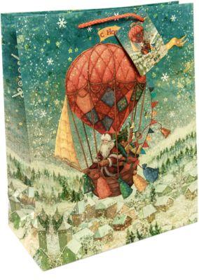 Бумажный пакет Доставка подарков для сувенирной продукции , с ламинацией