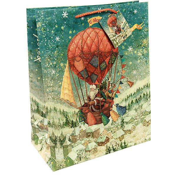 Magic Time Бумажный пакет Достака суенирной продукции , с ламинацией