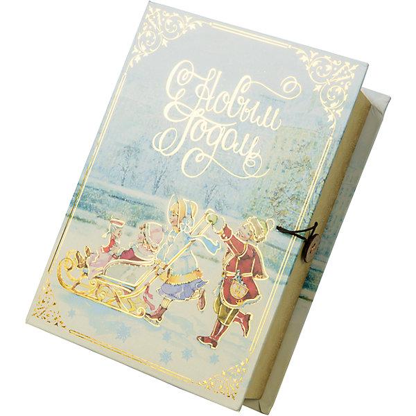 Magic Time Подарочная коробка Счастливое семейство-М коробочка для денег подарочная magic time новогодние часы 76349