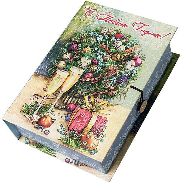 Magic Time Подарочная коробка Шампанское у елки-M
