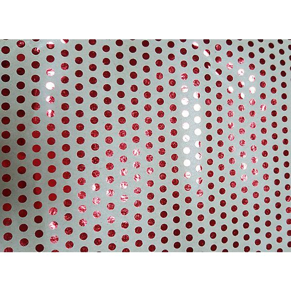 Крафт бумага Красный горох для сувенирной продукции в листахНовогодняя упаковочная бумага<br>Характеристики:<br><br>• размер листа: 100х70 см;<br>• плотность бумаги: 60 г/м2;<br>• масса: 49 г.<br><br>Красочная упаковочная бумага поможет красиво оформить подарок для взрослого или ребенка. Тематический новогодний принт гармонично подойдет для праздничного сюрприза.<br><br>Большие листы немелованной бумаги оформлены полноцветным декоративным рисунком. Каждый лист аккуратно свернут в рулончик, поэтому не имеет сгибов и заломов.<br><br>Одного листа будет достаточно для упаковки подарка среднего размера, для большего объема необходимо приобрести несколько листов одной расцветки или скомбинировать несколько видов одной цветовой гаммы.<br><br>Крафт бумага «Красный горох» для сувенирной продукции, Magic Time можно купить в нашем интернет-магазине.<br>Ширина мм: 700; Глубина мм: 30; Высота мм: 30; Вес г: 49; Возраст от месяцев: 36; Возраст до месяцев: 2147483647; Пол: Унисекс; Возраст: Детский; SKU: 7317247;