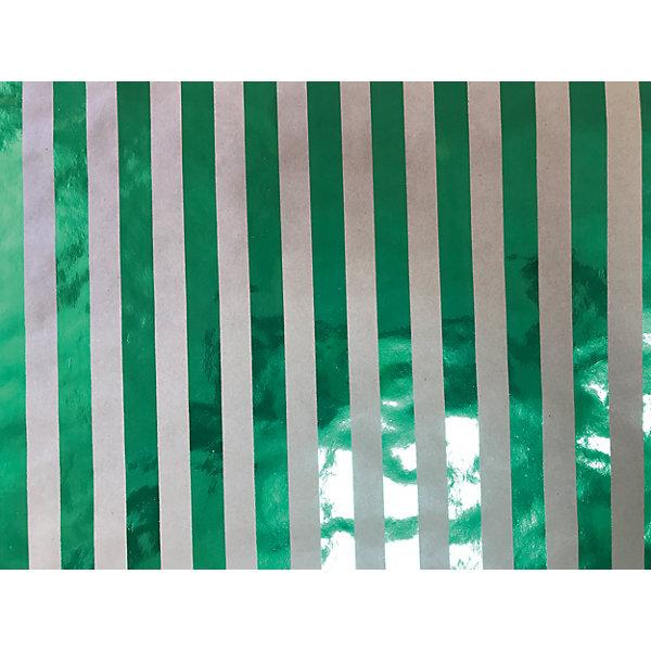 Крафт бумага Зеленые полоски для сувенирной продукции в листахНовогодняя упаковочная бумага<br>Характеристики:<br><br>• размер листа: 100х70 см;<br>• плотность бумаги: 60 г/м2;<br>• масса: 49 г.<br><br>Красочная упаковочная бумага поможет красиво оформить подарок для взрослого или ребенка. Тематический новогодний принт гармонично подойдет для праздничного сюрприза.<br><br>Большие листы немелованной бумаги оформлены полноцветным декоративным рисунком. Каждый лист аккуратно свернут в рулончик, поэтому не имеет сгибов и заломов.<br><br>Одного листа будет достаточно для упаковки подарка среднего размера, для большего объема необходимо приобрести несколько листов одной расцветки или скомбинировать несколько видов одной цветовой гаммы.<br><br>Крафт бумага «Зеленые полоски» для сувенирной продукции, Magic Time можно купить в нашем интернет-магазине.<br>Ширина мм: 700; Глубина мм: 30; Высота мм: 30; Вес г: 49; Возраст от месяцев: 36; Возраст до месяцев: 2147483647; Пол: Унисекс; Возраст: Детский; SKU: 7317251;