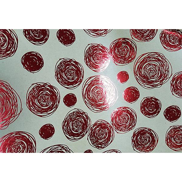 Крафт бумага Красные водовороты для сувенирной продукции в листахУпаковка новогоднего подарка<br>Характеристики:<br><br>• размер листа: 100х70 см;<br>• плотность бумаги: 60 г/м2;<br>• масса: 49 г.<br><br>Красочная упаковочная бумага поможет красиво оформить подарок для взрослого или ребенка. Тематический новогодний принт гармонично подойдет для праздничного сюрприза.<br><br>Большие листы немелованной бумаги оформлены полноцветным декоративным рисунком. Каждый лист аккуратно свернут в рулончик, поэтому не имеет сгибов и заломов.<br><br>Одного листа будет достаточно для упаковки подарка среднего размера, для большего объема необходимо приобрести несколько листов одной расцветки или скомбинировать несколько видов одной цветовой гаммы.<br><br>Крафт бумага «Красные водовороты» для сувенирной продукции, Magic Time можно купить в нашем интернет-магазине.<br>Ширина мм: 700; Глубина мм: 30; Высота мм: 30; Вес г: 49; Возраст от месяцев: 36; Возраст до месяцев: 2147483647; Пол: Унисекс; Возраст: Детский; SKU: 7317254;