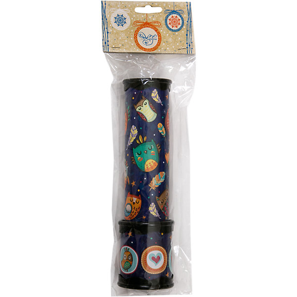 Игрушка детская - Калейдоскоп из плотного картона и полистирола с внутренними элементами из ЭВАКалейдоскопы<br>Характеристики:<br><br>• возраст: 3+;<br>• материал: картон, полистирол, ЭВА;<br>• размер игрушки: 20х5,6 см;<br>• масса: 119 г.<br><br>Замечательная игрушка порадует мальчиков и девочек. Калейдоскоп с совушками станет хорошим подарком к празднику.<br><br>Забавная игрушка очень простая в обращении – даже трехлетний малыш поймет принцип, по которому получаются великолепные узоры. Поворачивая основную часть калейдоскопа нужно смотреть в специальное отверстие, где друг друга сменяют красивые картинки.<br><br>Небольшой калейдоскоп удобно поместится в детских ладошках. Игрушку можно брать с собой на прогулку или в путешествие.<br><br>Игрушка детская «Калейдоскоп» из плотного картона и полистирола с внутренними элементами из ЭВА, Magic Time можно купить в нашем интернет-магазине.