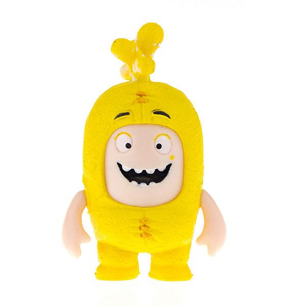 Брелок фигурка-чудик Oddbods Баблз, 4,5 см, Желтый