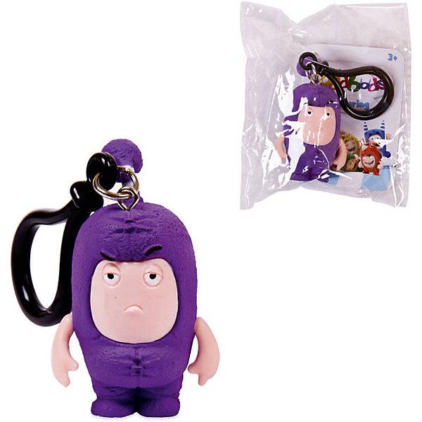 Брелок фигурка-чудик Oddbods Джефф, 4,5 см, Фиолетовый