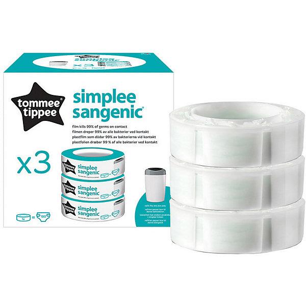 Купить Сменная кассета для утилизатора Tommee Tippee Simplee, 3 шт., Великобритания, Унисекс