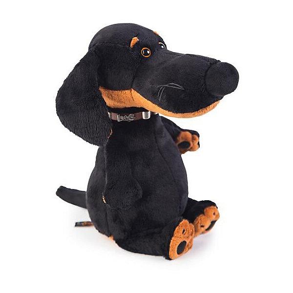 Мягкая игрушка Budi Basa Собака Ваксон в ошейнике, 29 см